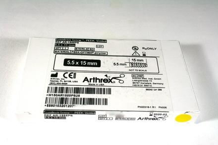 AR-1555PS Arthrex PEEK Tenodesis Screw, 5.5mm x 15mm