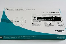 0010301 Bard Ventralex Hernia Patch Small 4.3cm/1.7in.