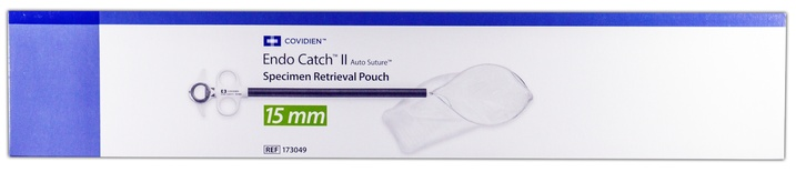 173049 Covidien Endo Catch Ii Specimen Pouch, 15mm