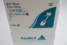 CFF03 Applied Medical Kii Fios First Entry, Advanced Fixation Cannula with Obturator, 5mm x 100mm