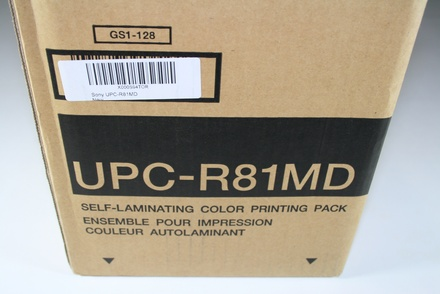 UPC-R81MD Sony Laminating Ink and Curl-Free Paper