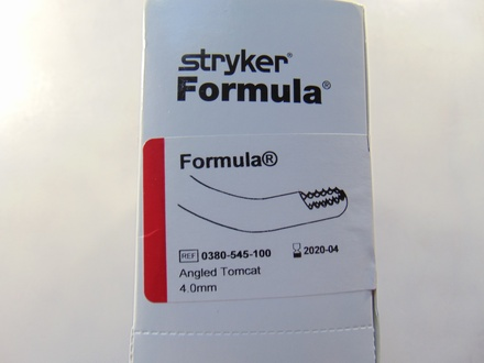 380-545-100 Stryker 4.0 mm Angled Tomcat
