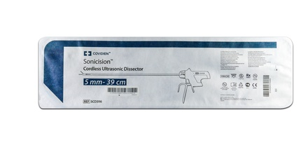 SCD396 Covidien Sonicision Dissector, Cordless Ultrasonic Dissector 5.0mm - 39.0cm