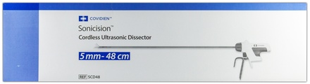 SCD48 Covidien Sonicision Dissector: Cordless Ultrasonic Dissector 5.0Mm - 48.0Cm